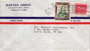 Cuba 1c Proposed Communications Building Postal Tax, and 12c Bishop P.A. More...