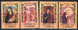 Antigua and Barbuda. 1985. 915-18. Christmas. MNH.