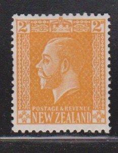 NEW ZEALAND Scott # 147 MH - KGV Definitive