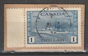 #262 Canada Used $1
