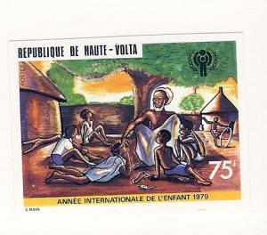 Burkina Faso (Upper Volta), 494, IYC Imperf Single,MNH