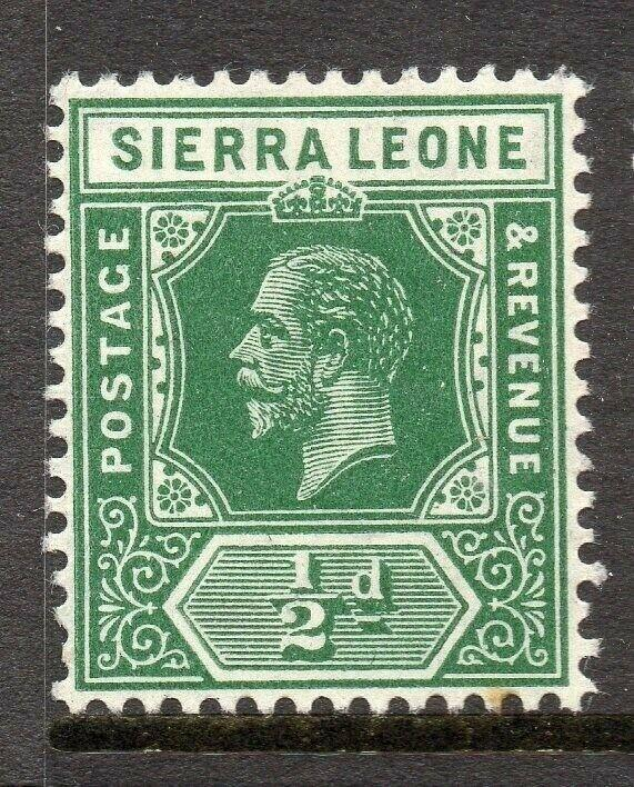 Sierra Leone 1912 Early Issue Fine Mint Hinged 1/2d. 303555