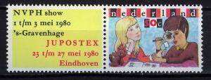 HOLANDA/NETHERLANDS 1980 MNH SC.600 JUPOSTEX Youth Philatelic Exhb.