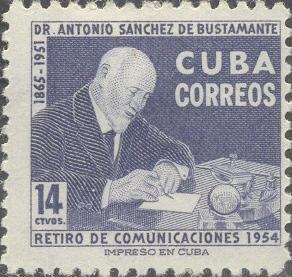 Cuba Scott #'s 546 MH