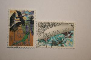 Aruba 1990. 'Environmental protection'. SG75/76. UNH