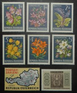 Austria 756-84. 1966 Various Commemoratives