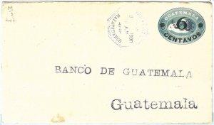 69283 - GUATEMALA - POSTAL HISTORY -  STATATIONERY COVER  Higgings & Gage # 14