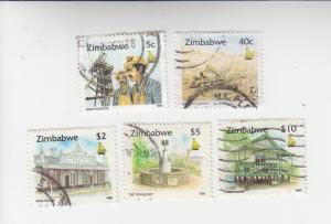 Small collection used Zimbabwe incl. high values 733-5