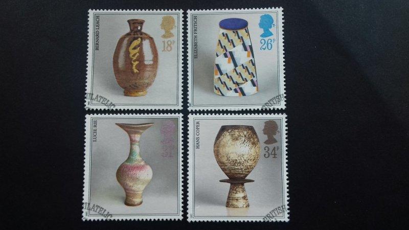 Great Britain 1987 Studio Pottery Used