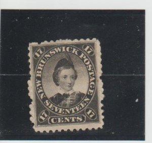 New Brunswick  Scott#  11  Used  (1860 Edward VII)