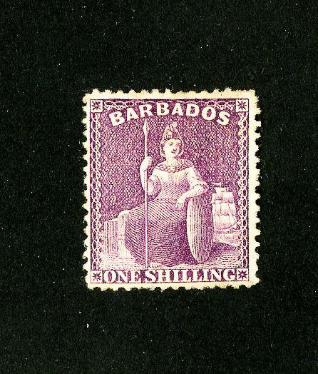 Barbados Stamps # 5b VF Mint Unused Scott Value $165.00