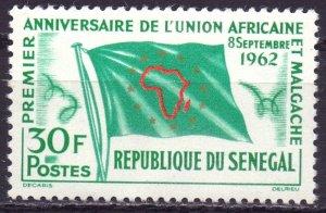 Senegal. 1962. 256. African Union. MNH.