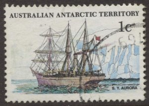 STAMP STATION PERTH Antarctic Terr. #L37 Ships  Used
