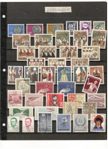 YUGOSLAVIA COLLECTION, MINT/USED