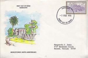 Barbados, First Day Cover