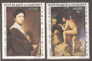 Dahomey C49-C50 Mint  VF H