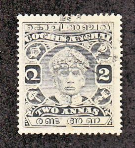 India Cochin Scott #46 Used