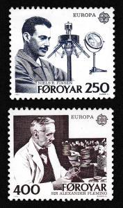 Faroe Is. Europa CEPT issue 1983 2v SG#83-84 SC#95-96