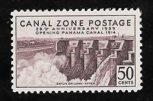 CANAL ZONE 135 50 cents 25th Anniversary Stamp Mint OG NH VF