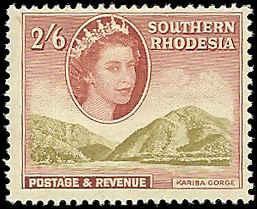 Southern Rhodesia  - 91  - Unused - SCV-8.00