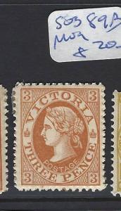 VICTORIA  (PP2803B) QV  3 D  SG 389B    MOG