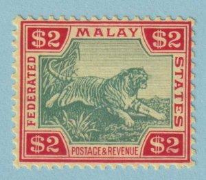 MALAYA 78 TIGER MINT NEVER  HINGED OG * NO FAULTS EXTRA FINE