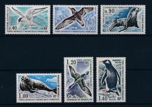 [37840] TAAF 1976 Marine life Birds Seal Penguin MNH