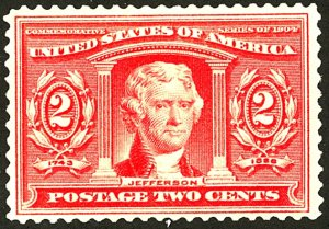 U.S. #324 MINT OG NH