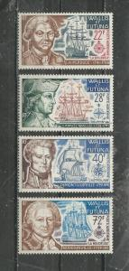 Wallis & Futuna Islands Scott catalogue # C42-C45