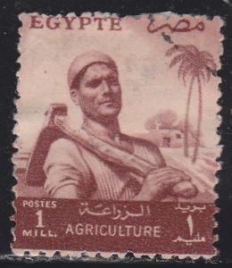 Egypt 368 Farmer 1954
