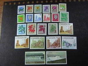 CANADA # 705-727-MINT NEVER/HINGED---COMPLETE SET----1977-82