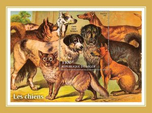 NIGER - 2021 - Dogs - Perf Souv Sheet -Mint Never Hinged