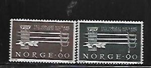 NORWAY, 502-503, MNH, SWORDS