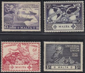 Malta 225-228 MNH (1949)