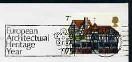 Postmark - Great Britain 1975 cover bearing illustrated s...