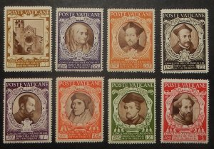 Vatican City 110-21, E9-10. 1946 Definitives with special delivery, NH
