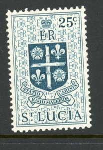 St. Lucia 166 MH 1954