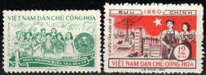 Vietnam #116-7 F-VF Unused CV $3.25  (X7744)