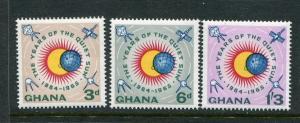 Ghana #186-8 MNH