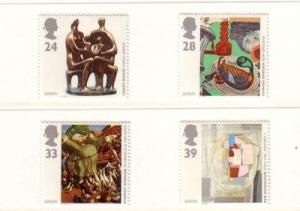 Great Britain Sc 1498-1 1993 Europa stamps mint NH