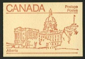 Canada 946b Booklet BK84a Alberta MNH Maple Leaf