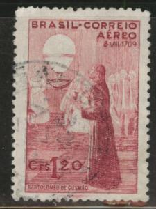 Brazil Scott C60 Used 1941 airmail stamp
