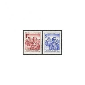 Czechoslovakia 514-515,MNH.Michel 719-720.Solidarity of Fighters against Fascism