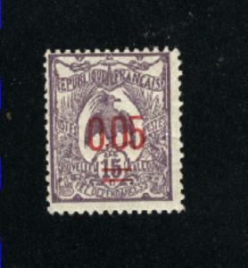 New Caledonia #123 Mint 1922 PD
