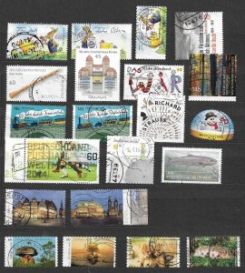 Germany 2014 several issues used