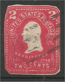 UNITED STATES, used Stationary and wrapper cut-outs.