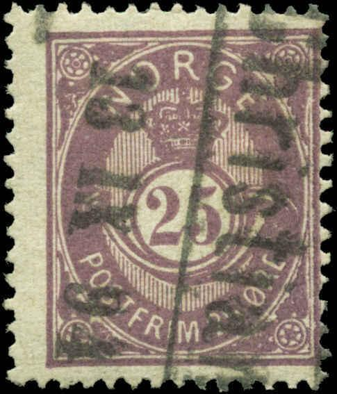 Norway Scott #45 Used