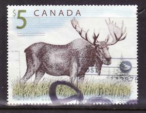 Canada-Sc#1693-used $5 Moose-