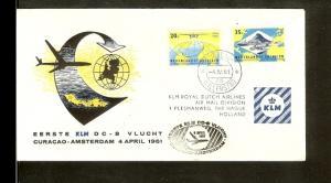 KLM vlucht Willemstad-A'dam 4-4-61 [VZ004_16]