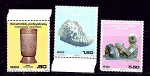 Mexico 1208-10 MNH 1980 complete set   #2